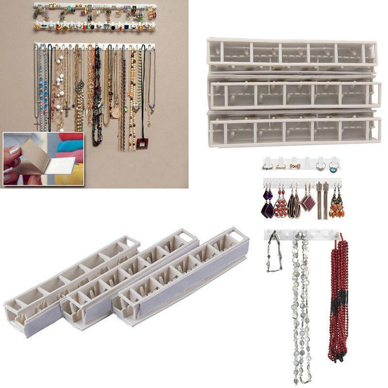 newest necklace earring jewelry organizer wall hanging