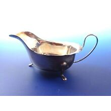 English Sterling Silver Sauce Boat by E. Viners Sheffield England