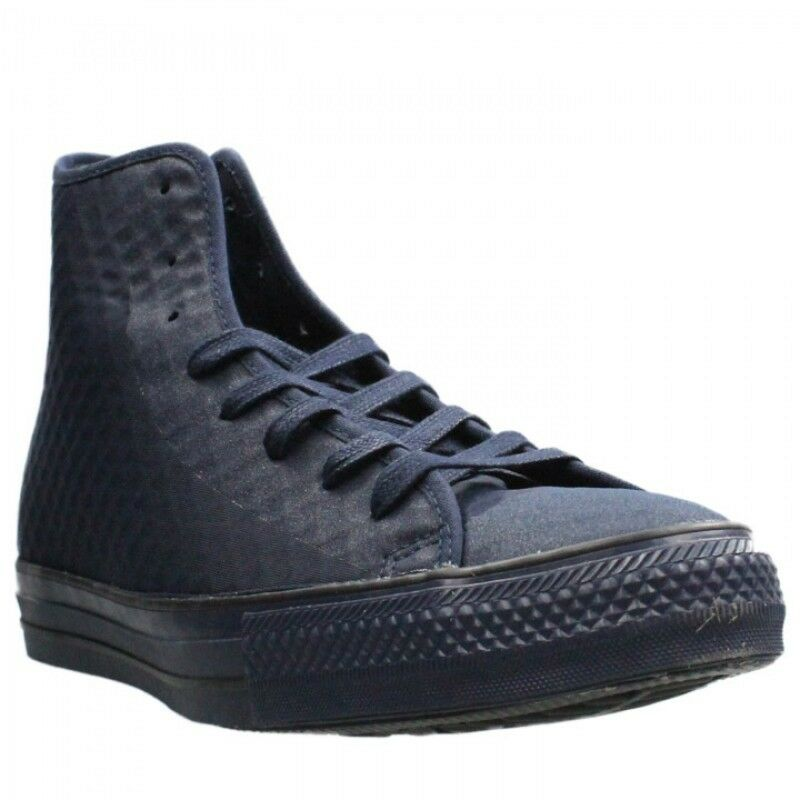 37c4f34c4101ef Details about CONVERSE ALL STAR CHUCK TAYLOR HI MEN SHOES OBSIDIAN OBS  154905C SIZE 10.5 NEW