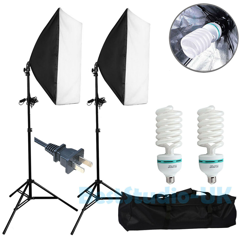 Optex Photo Studio Lighting Kit Review: 2pcs Lighting Softbox Photography Photo Equipment Soft