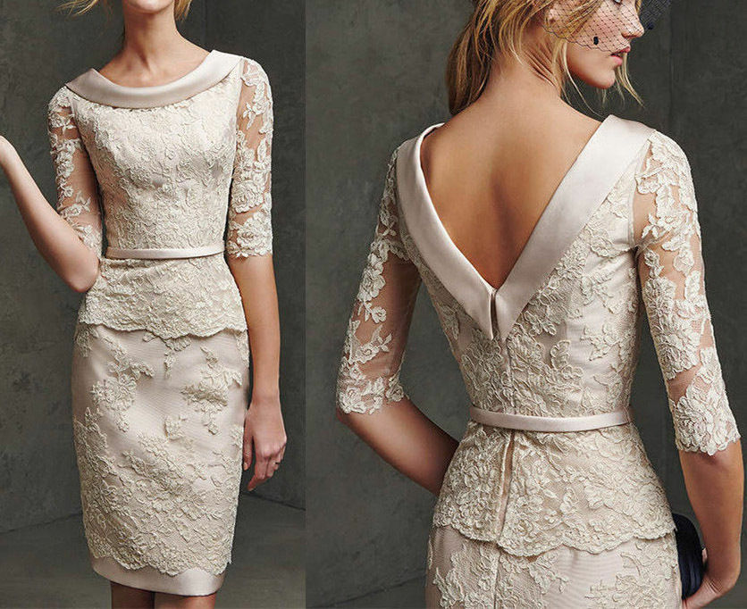 2017 Two-Piece Lace Mother Of The Bride Dresses With