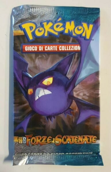 Pokemon Game Booster Sealed New Bustina Busta ITA Unleashed - HS FORZE SCATENATE