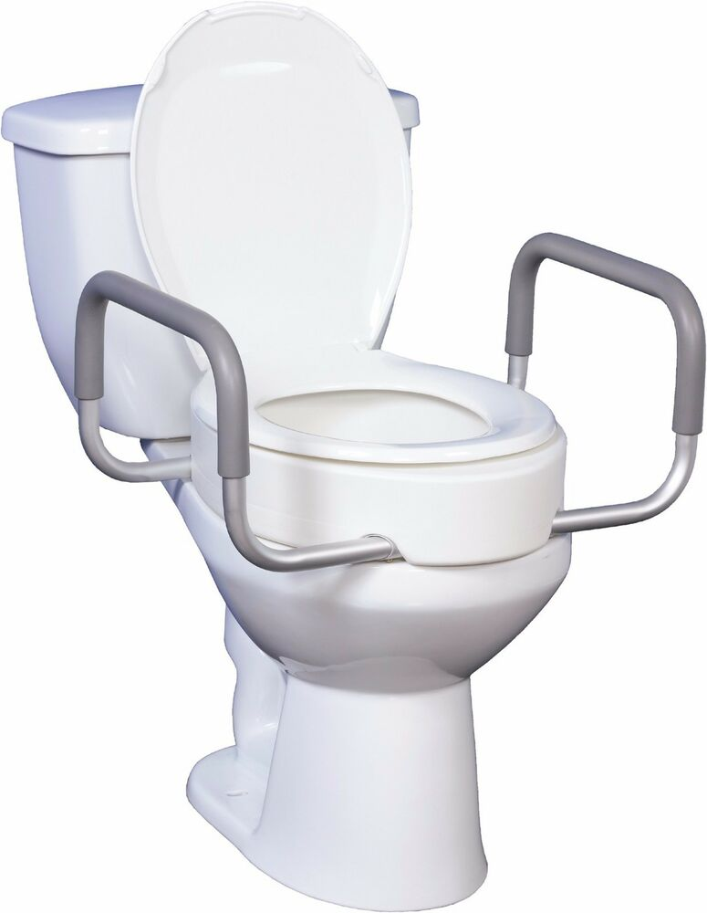 For Elongated Toilets Raised Toilet Seat With Removable