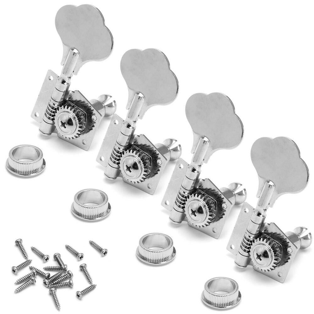 4 pcs guitar bass machine heads knobs tuners tuning pegs tuners guitar parts 665291355903 ebay. Black Bedroom Furniture Sets. Home Design Ideas