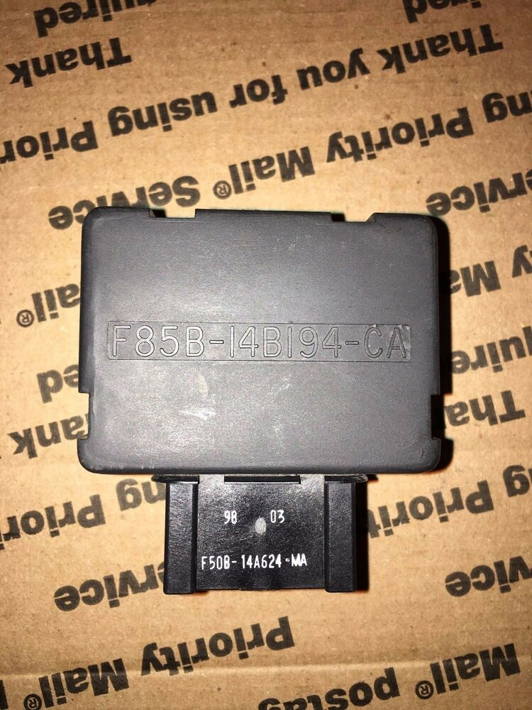 S L on 2002 Ford Explorer 4wd Control Module