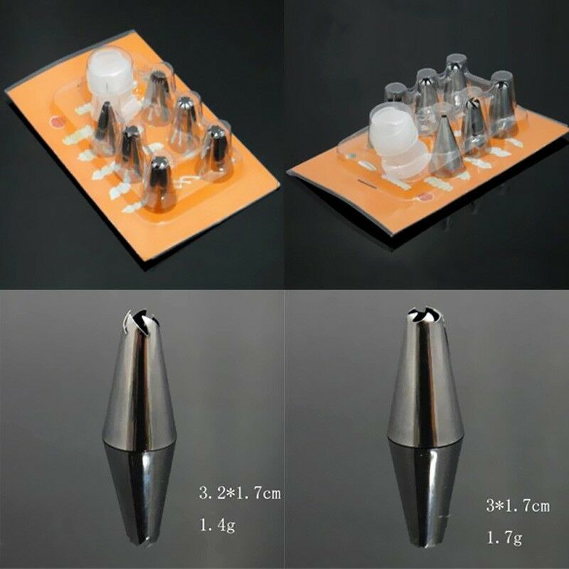 piping nozzles tips cake decorating sugarcraft pastry tools ebay