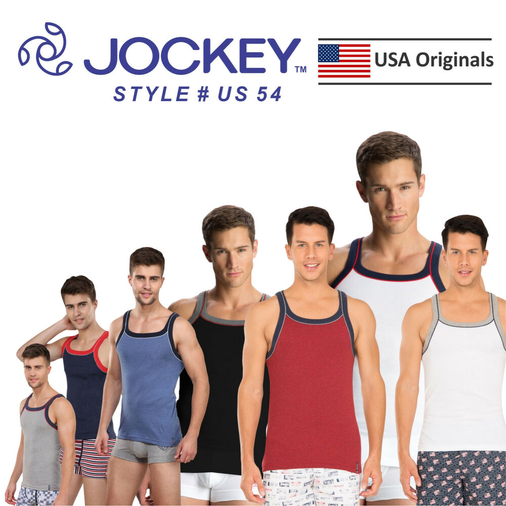 a63f883008e0f3 Details about Jockey Men USA ORIGINAL Sports Square Neck Vest US 54- Latest  design-Comfortable