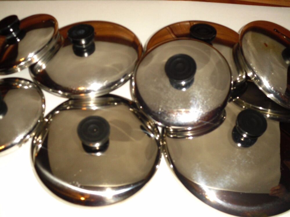 Replacement Stainless Steel Lids For Revere Ware Pans 4 5