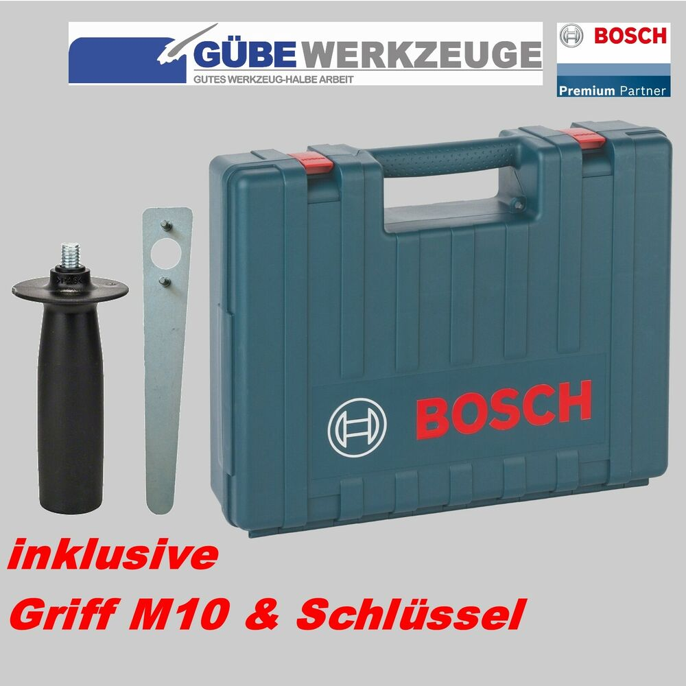 bosch koffer f r bosch winkelschleifer gws 1000 gws 125mmo 2605438170 ebay. Black Bedroom Furniture Sets. Home Design Ideas