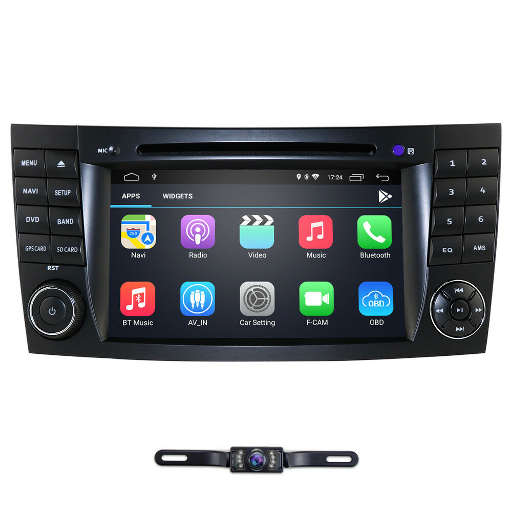 Android 7 1 Car Dvd Radio Stereo Gps For Mercedes Benz E W211 W463 Cls W219 Ebay