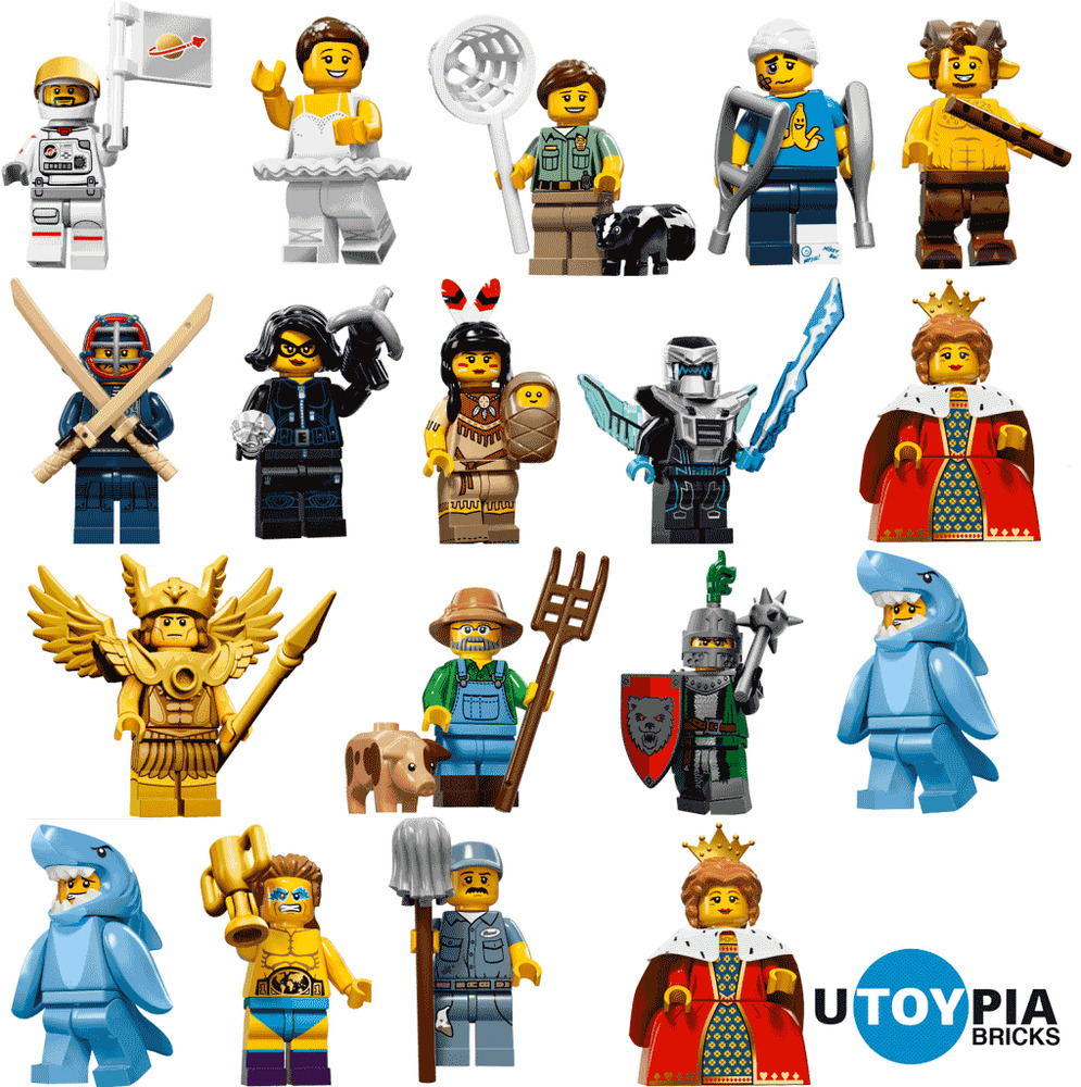 lego series 15 minifigures 71011 complete set of 16 minifigures in stock ebay. Black Bedroom Furniture Sets. Home Design Ideas