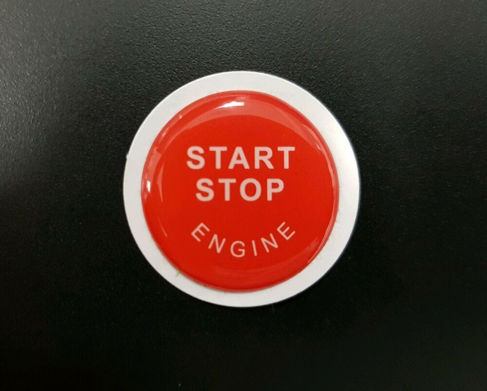 bmw x5 e70 x6 e71 engine start stop button resin sticker. Black Bedroom Furniture Sets. Home Design Ideas