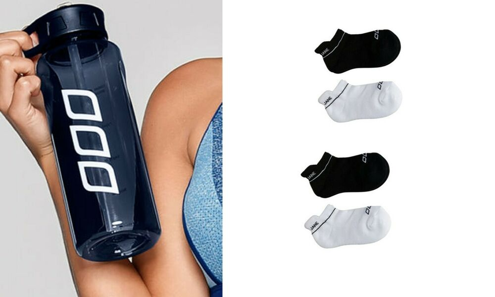 New Lorna Jane Icons 1lt Water Bottle Sport Gym Training