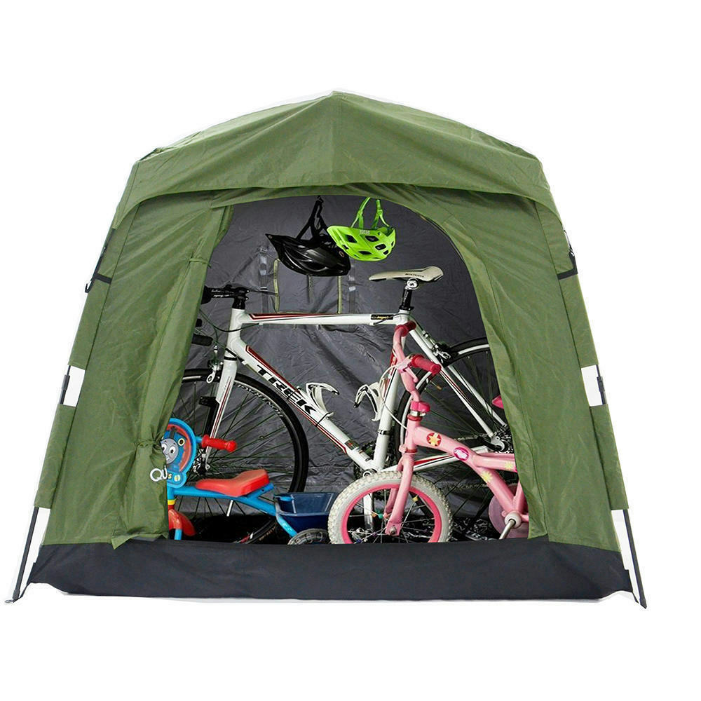 Quictent Heavy Duty Pop Up Bike Tent Storage Shed Quick