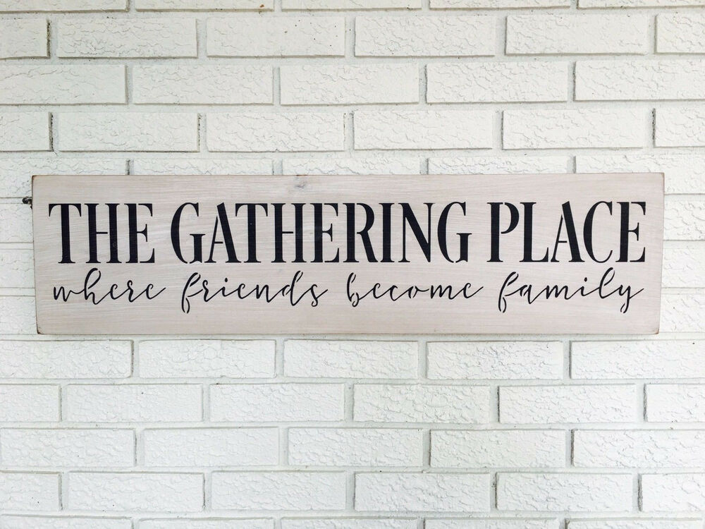 The Gathering Place Friends Become Family Gathering