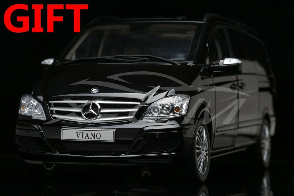 Details About Car Model Mercedes Benz Viano Business Mpv 1 18 Black Small Gift