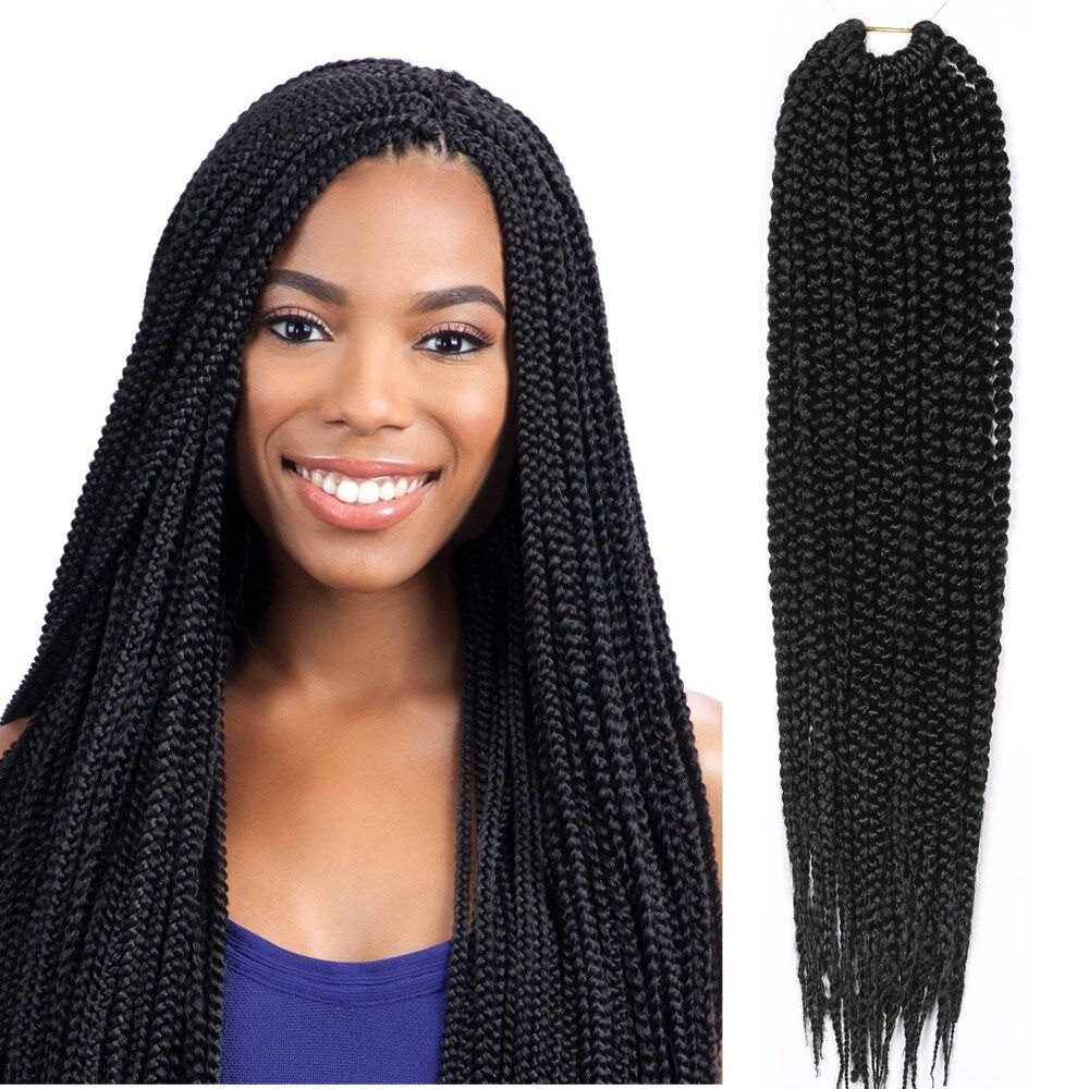 braid styles with synthetic hair kanekalon senegalese 3x box braid twist crochet synthetic 8076 | s l1000