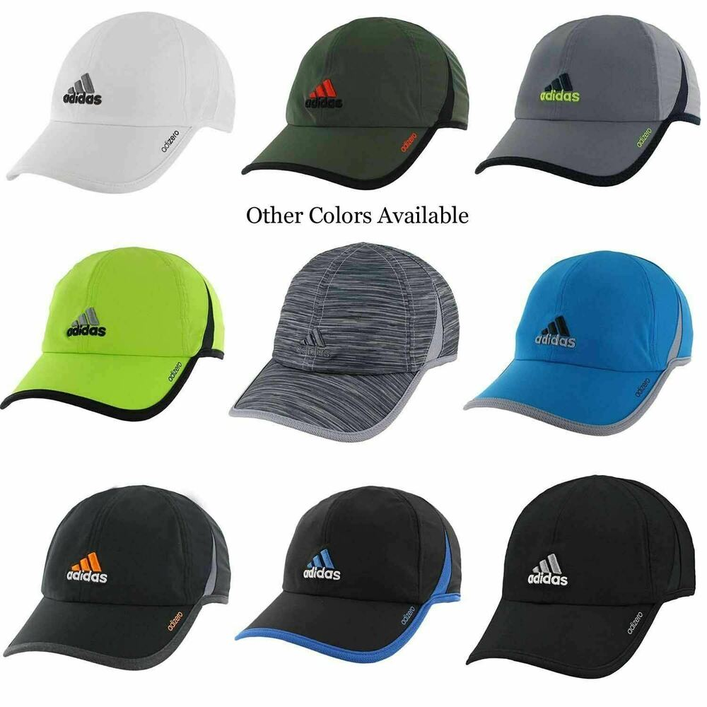 Details about Mens Adidas Adizero Superlite Cap ClimaCool Hat Black Red  Blue Gray Green White 891d519b62ba