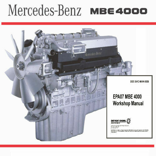 S L on Mercedes Mbe 900 Engine