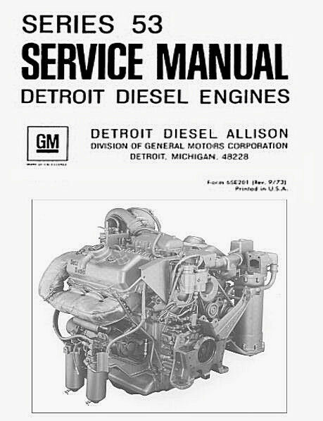 Detroit diesel allison series 53 6v 53 repair service for Manual de acuicultura pdf