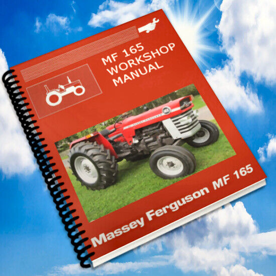 massey ferguson 165 150 175 tractor service manual parts. Black Bedroom Furniture Sets. Home Design Ideas