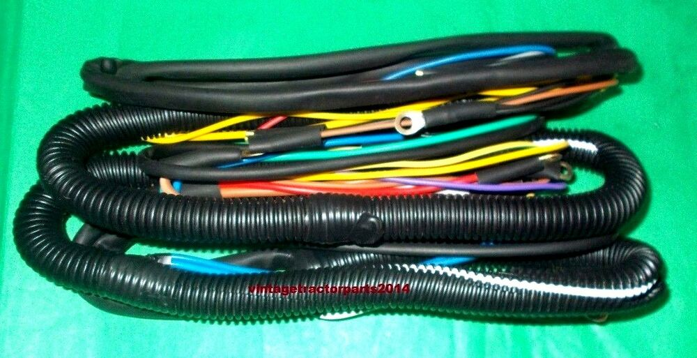 massey ferguson 1035 35x tractor complete wiring harness. Black Bedroom Furniture Sets. Home Design Ideas