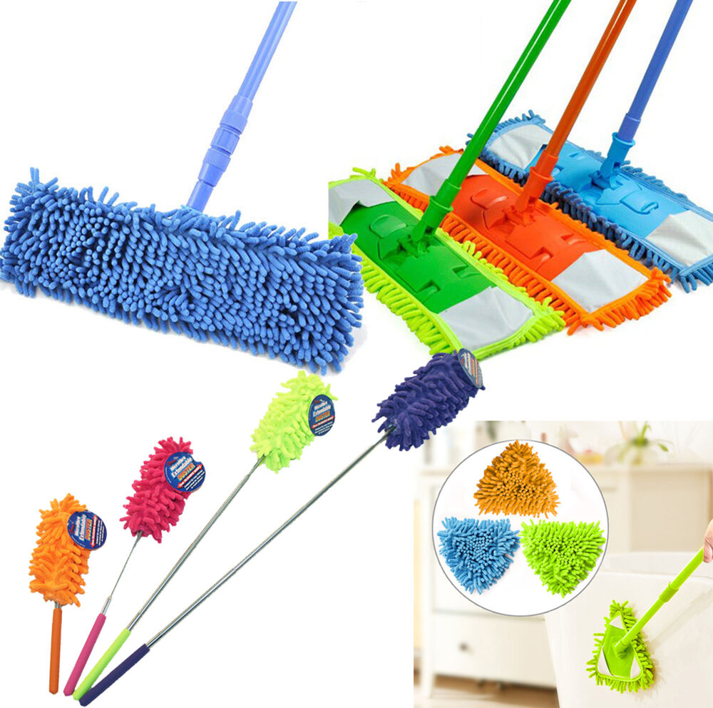 Anti Static Mop : All purpose cleaning product anti static feather hand