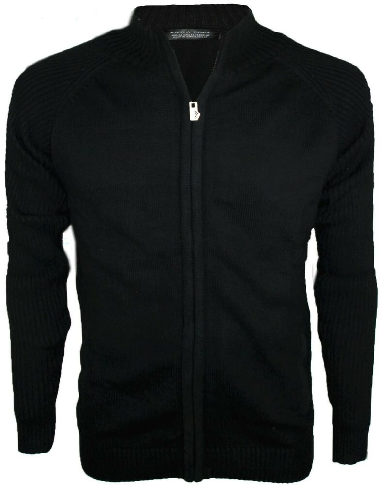 Mens Zip Sweater | eBay