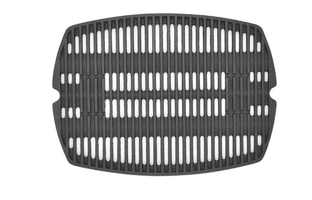 weber grill grates 87582 cast iron cooking grate for baby q100 weber q100 10644