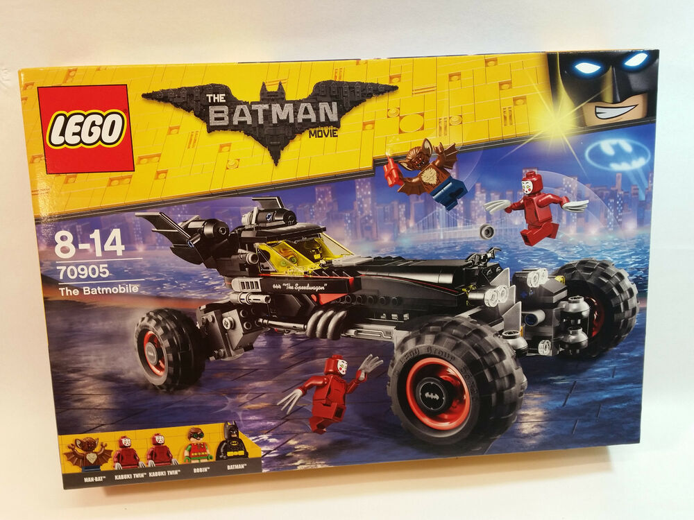 lego the batman movie 70905 the batmobile new sealed. Black Bedroom Furniture Sets. Home Design Ideas