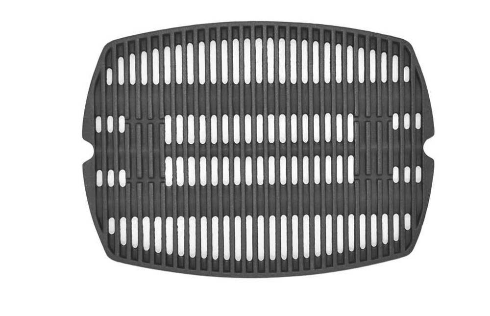 Weber 7582 cast iron cooking grate for weber q100 series for Weber grill alternative