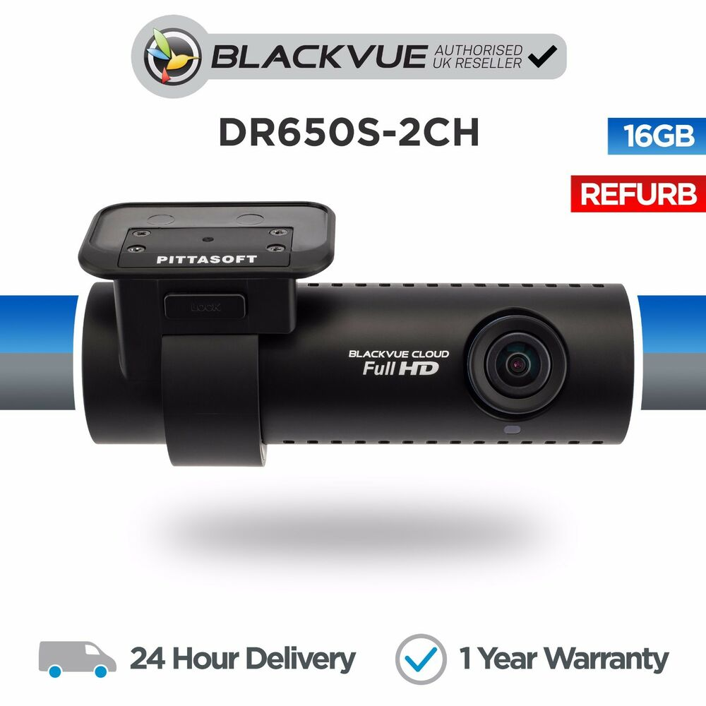 Blackvue Dr650s 2ch 16gb Front Rear Car Dash Cam Camera With Wifi Home 2channel Remote View Mobile Dvr Shock Sensor And Gps Full Hd Ebay