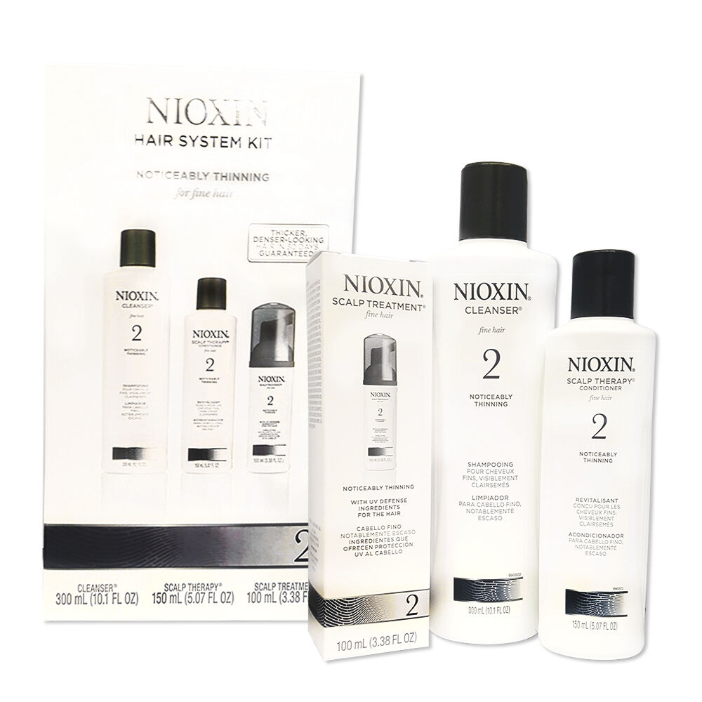 System Kit 2 By Nioxin Hair Loss Treatment Strenghtening