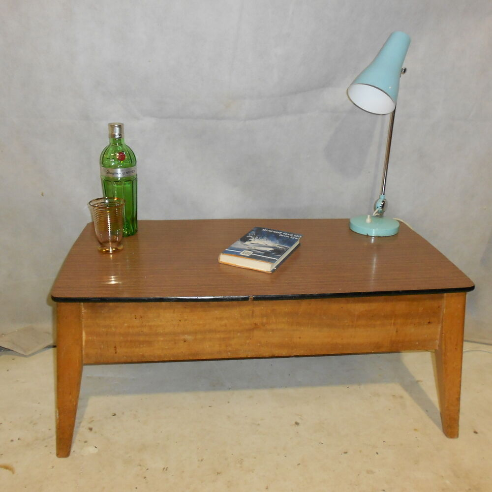 50s retro console table - photo #5