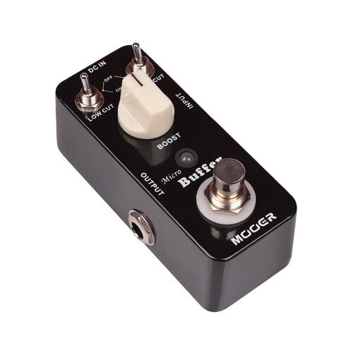 new mooer micro buffer boost micro guitar effects pedal 700355952336 ebay. Black Bedroom Furniture Sets. Home Design Ideas