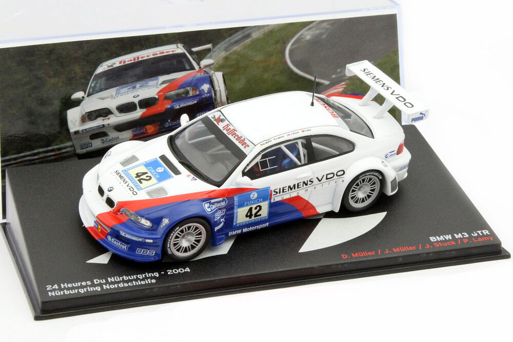 bmw m3 gtr 42 winner 24h n rburgring 2004 bmw motorsport. Black Bedroom Furniture Sets. Home Design Ideas