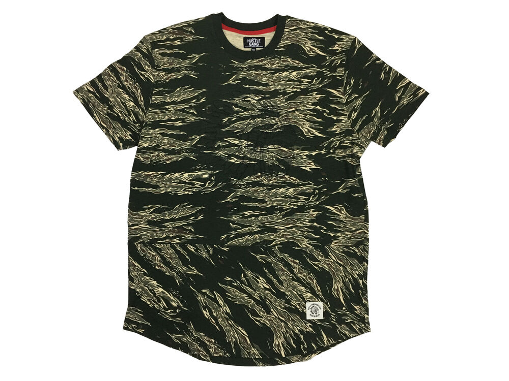 4db012bc6a Details about WARPATH Hustle Gang Camo Knit Tee