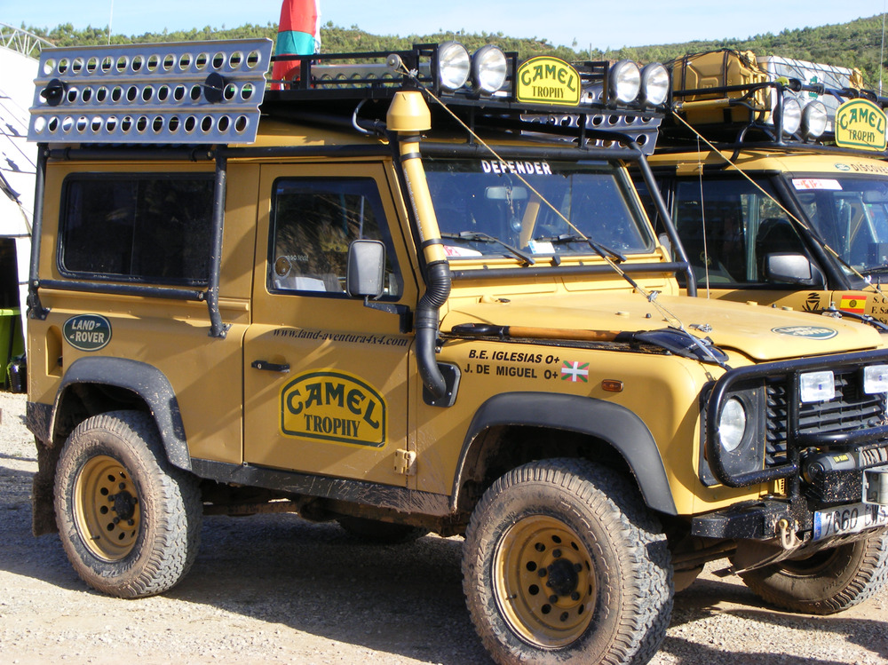 camel trophy jeep 4x4 land rover fans decals stickers off roading mud lovers ebay. Black Bedroom Furniture Sets. Home Design Ideas