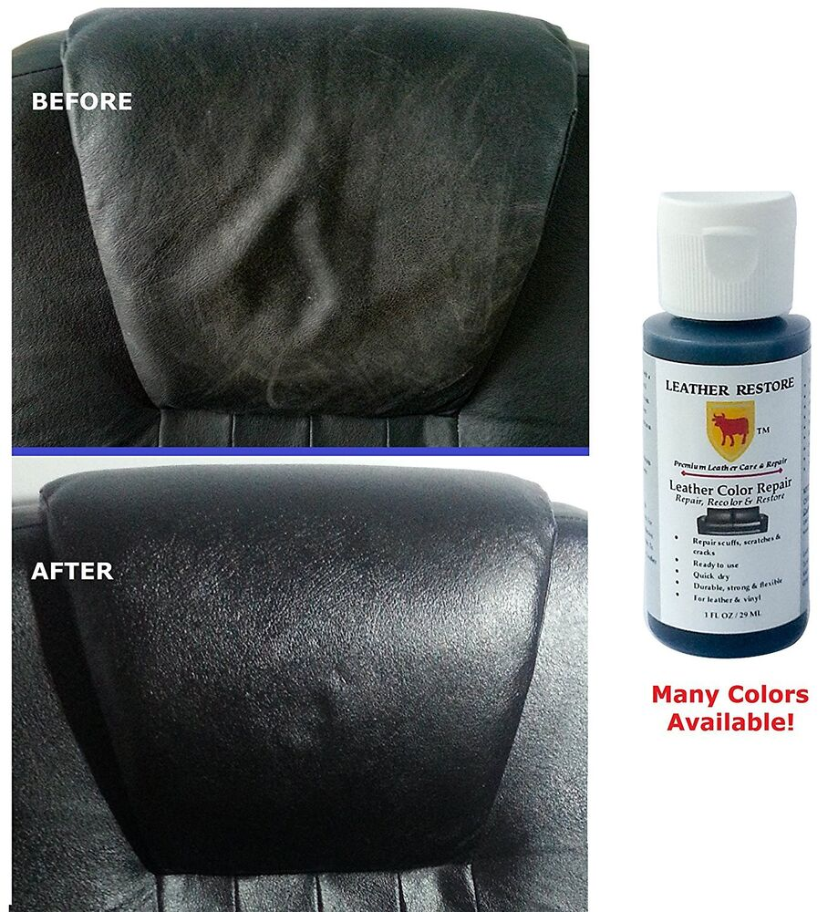 leather color repair 1 oz recolor restore couch furniture sofa