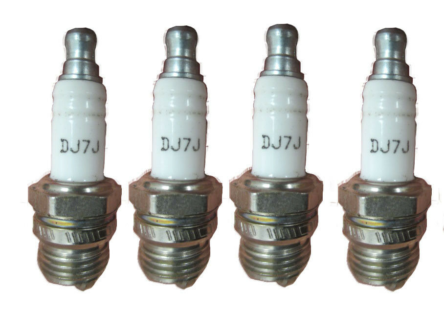 Farm Tractor Spark Plugs : Champion dj j spark plug copper plus pack ebay
