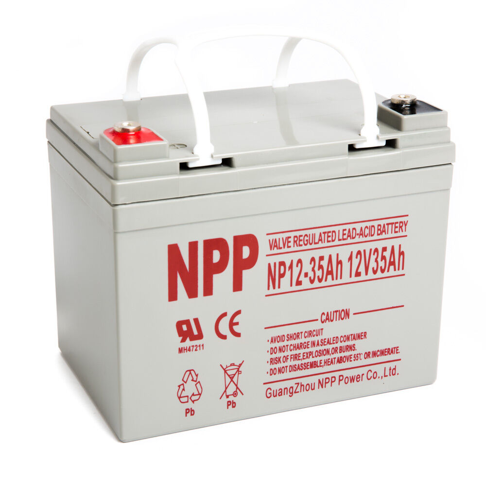 npp 12v 35ah u1 deep cycle agm solar battery also replaces. Black Bedroom Furniture Sets. Home Design Ideas