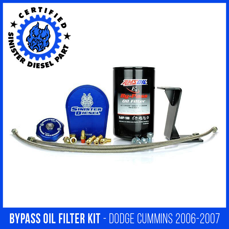 Sinister Sel Byp Oil Filter System For Dodge Mins 2006 2007 5 9l