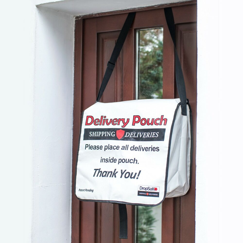 Front Door Letterbox: X LARGE Foldable Front Door Parcel/package Drop