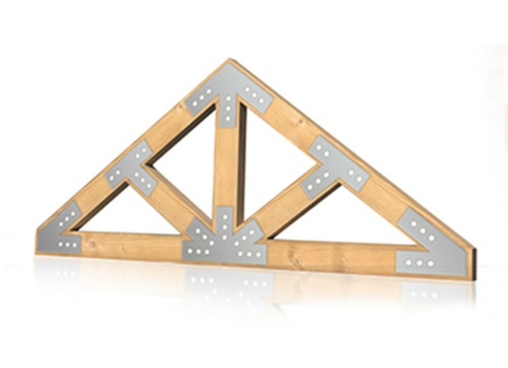 1 4 custom steel truss connector plate timber log gusset for Where to buy trusses