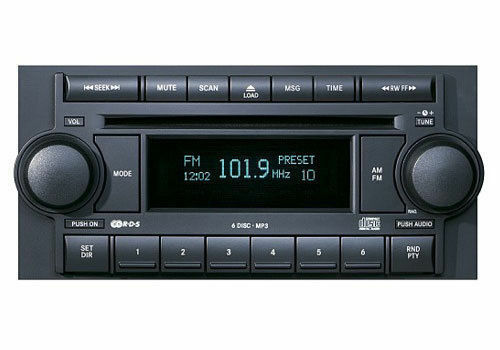 6 Disc Factory Radio Am  Fm Mp3 Cd Player Dodge Jeep