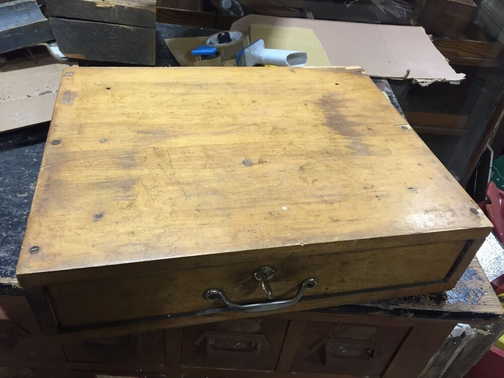 C1920 30 Country Store Cash Drawer W Key Amp Working Bell