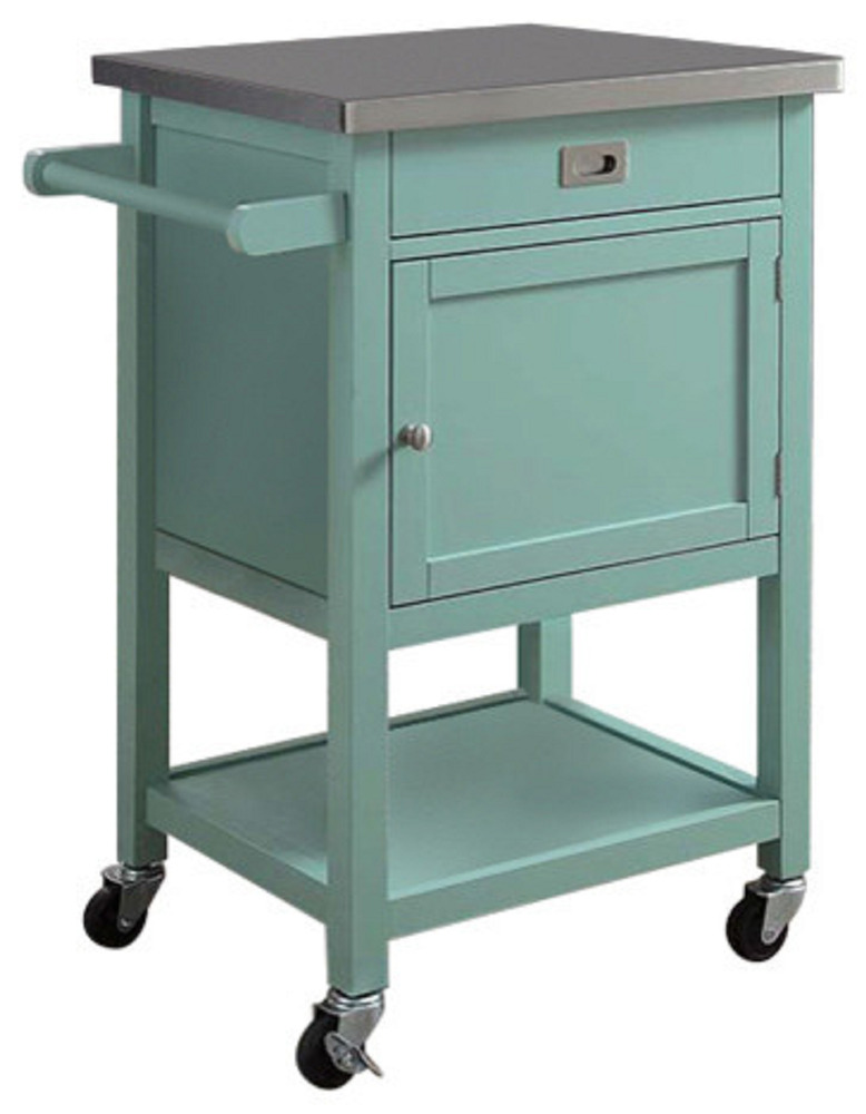 Kitchen Carts And Islands Appliance Microwave Rolling Wheels Cabinet Storage New Ebay