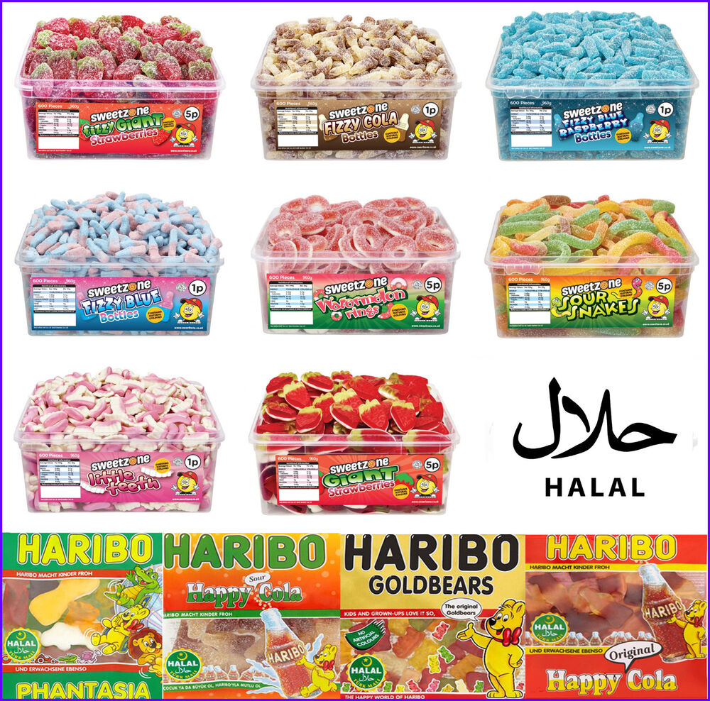 Halal Sweetzone Haribo Jelly Fizzy Pencils Candy Sweets