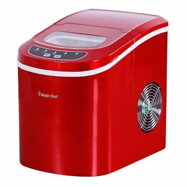 Magic Chef MCIM22R Tabletop Countertop Ice Maker Portable Red eBay