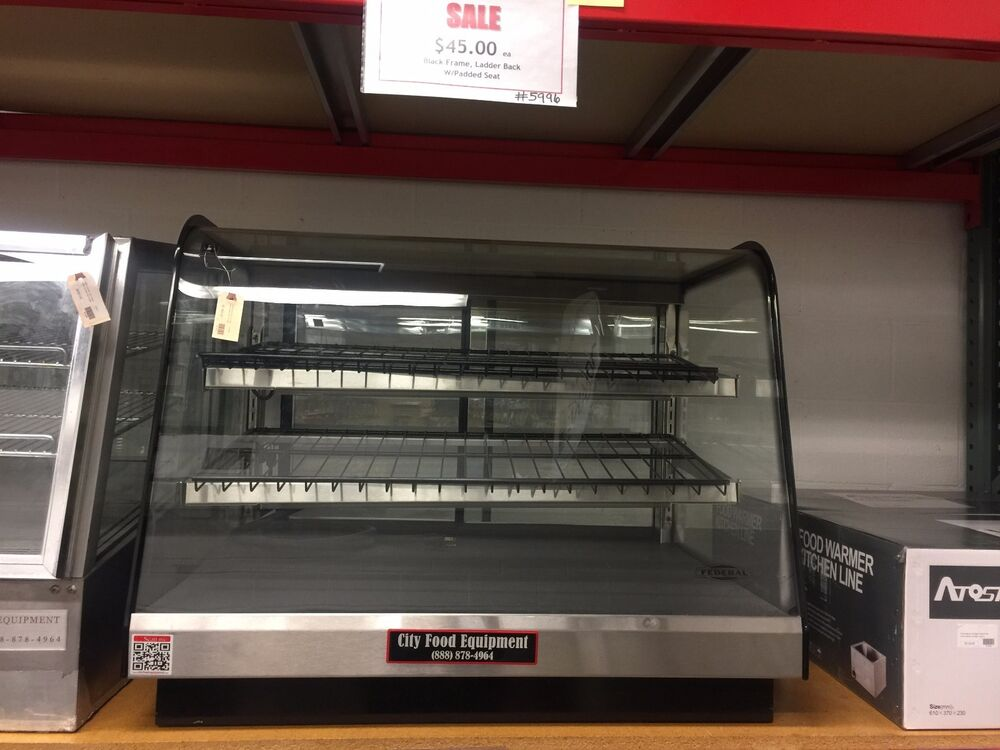 Federal Cd3628 Commercial Dry Counter Top Bakery Display